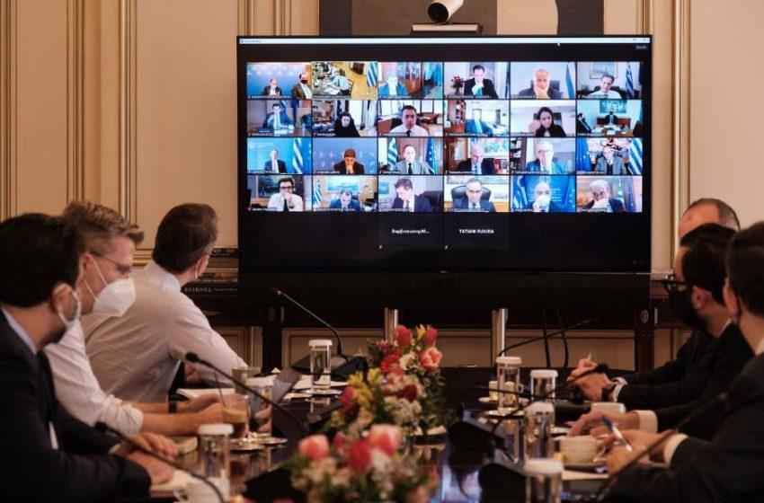 Σε εξέλιξη η συνεδρίαση του υπουργικού συμβουλίου – Στο επίκεντρο η έγκριση του Εθνικού Σχεδίου Ανάκαμψης