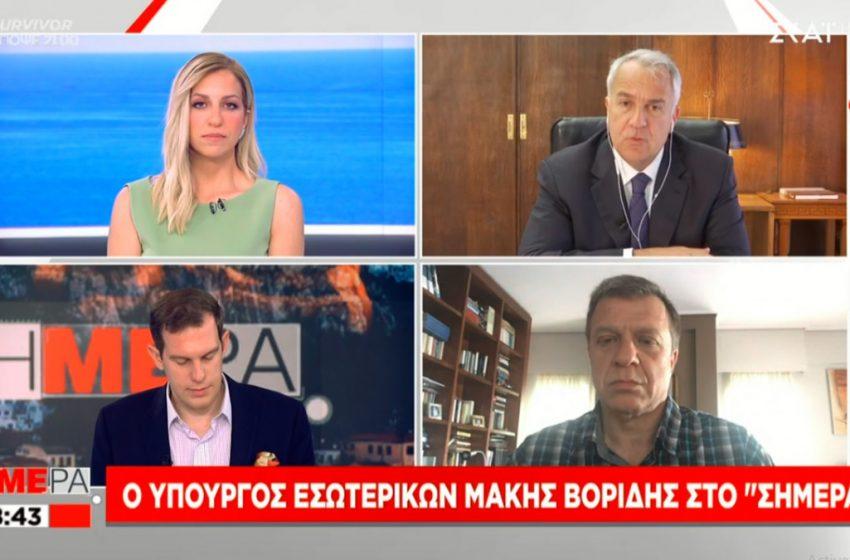 """Βορίδης: """"Δεν θα έχουμε ΜΑΤ έξω από τις εκκλησίες στον Επιτάφιο"""""""