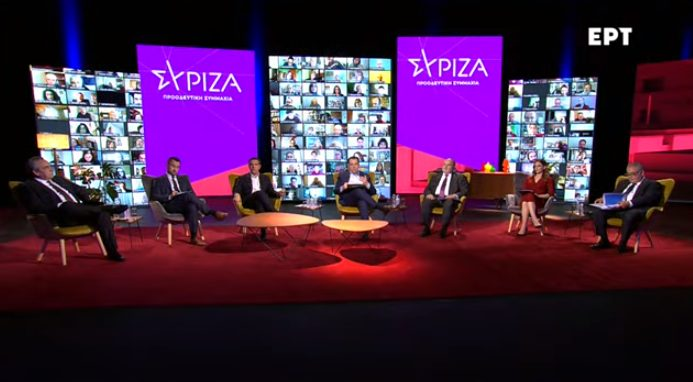 LIVE: Συζήτηση μετά την παρέμβαση Τσίπρα για το σχέδιο επανεκκίνησης της οικονομίας