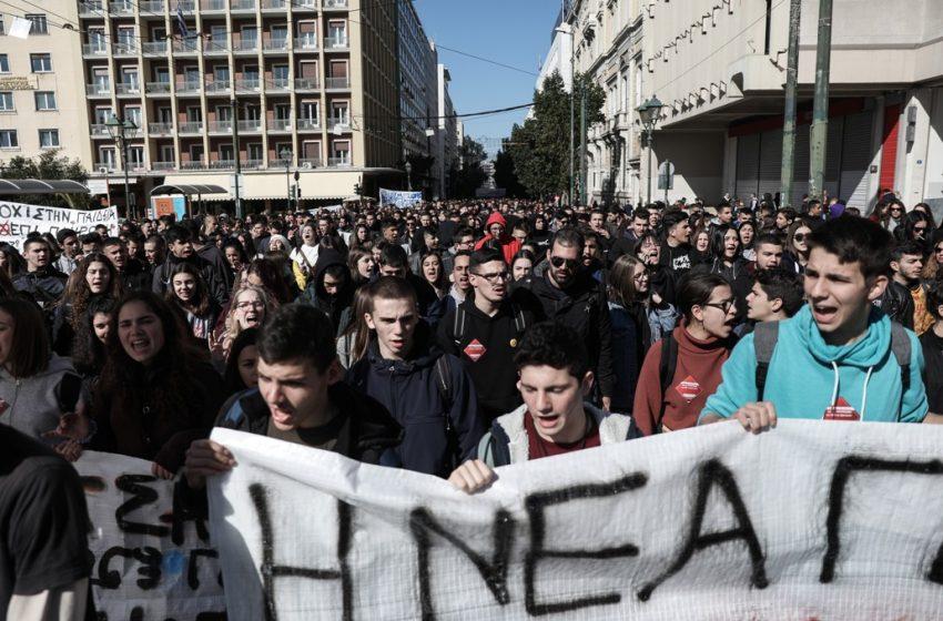 Μαθητές κατά Κεραμέως – Χατζηδάκη: Ντροπή να μιλούν εκ μέρους μας