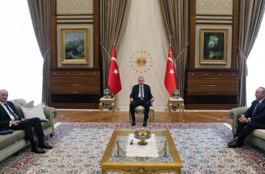 Η ατζέντα των συναντήσεων  Δένδια με Ερντογάν και Τσαβούσογλου