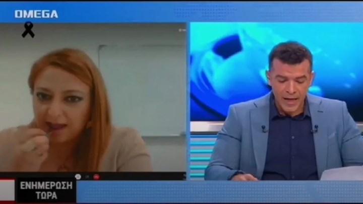 """Κύπρια υποψήφια βουλευτής βάζει κραγιόν στον """"αέρα"""" (vid)"""