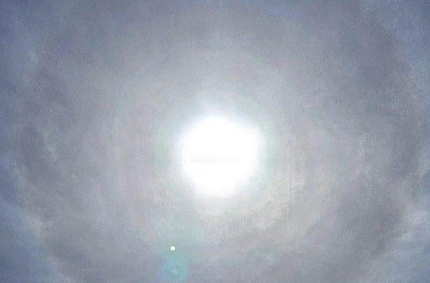 Σπάνιο μετεωρολογικό φαινόμενο στο Πυθαγόρειο της Σάμου (εικόνες)
