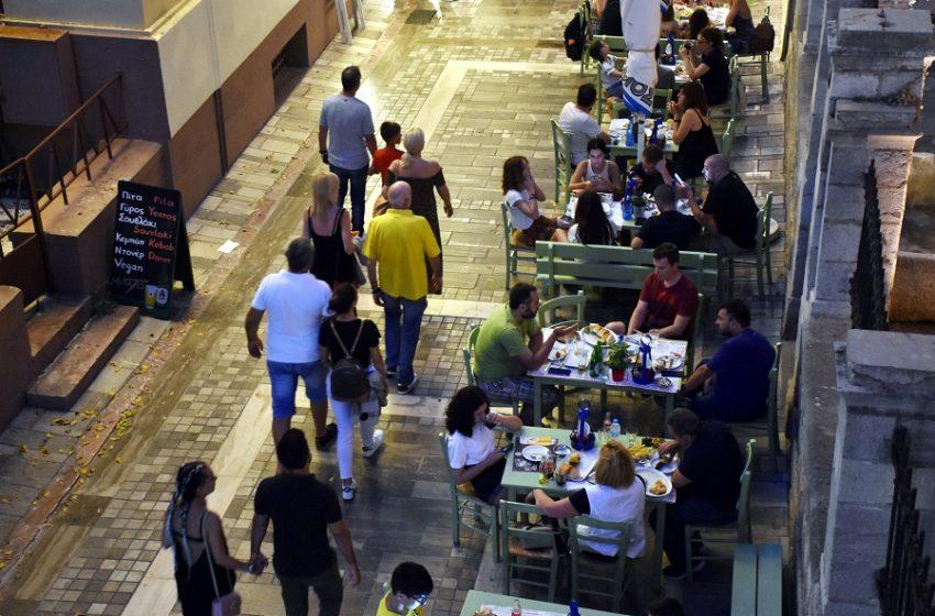 Εστίαση: Έτσι θα ανοίξει στις 3 Μαΐου-6 άτομα ανά τραπέζι, απολυμάνσεις και αποστάσεις