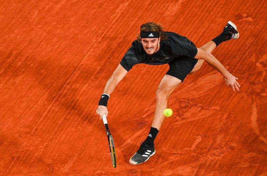 """""""Τρένο"""" ο Στέφανος Τσιτσιπάς: Προκρίθηκε στους """"4"""" του Barcelona Open"""