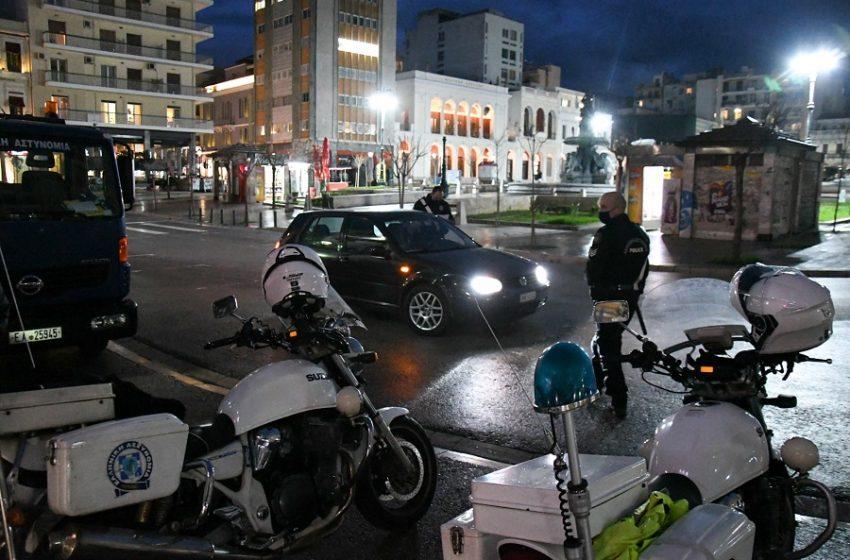 Μέτρα για κοροναϊό: Δέκα συλλήψεις και 860 παραβάσεις για μετακινήσεις την Κυριακή