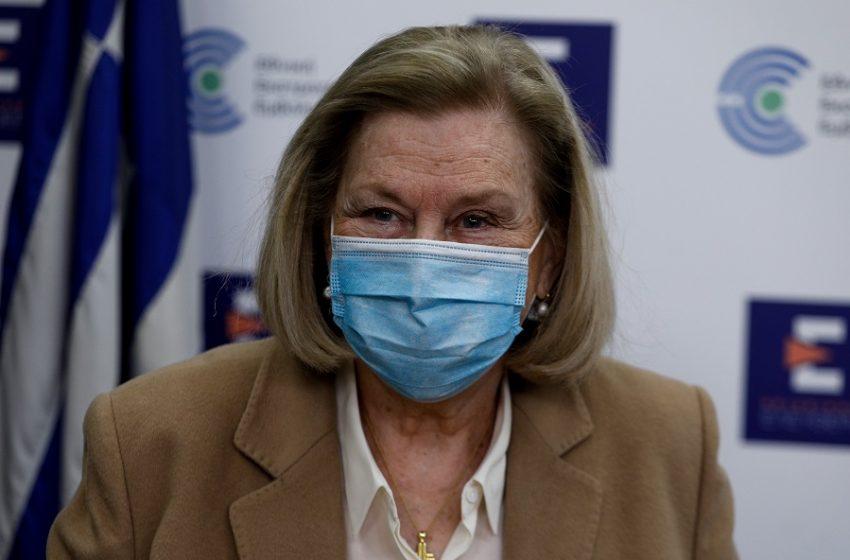 Θεοδωρίδου : Ένα μόλις περιστατικό θρόμβωσης στην Ελλάδα μετά το εμβόλιο της AstraZeneca