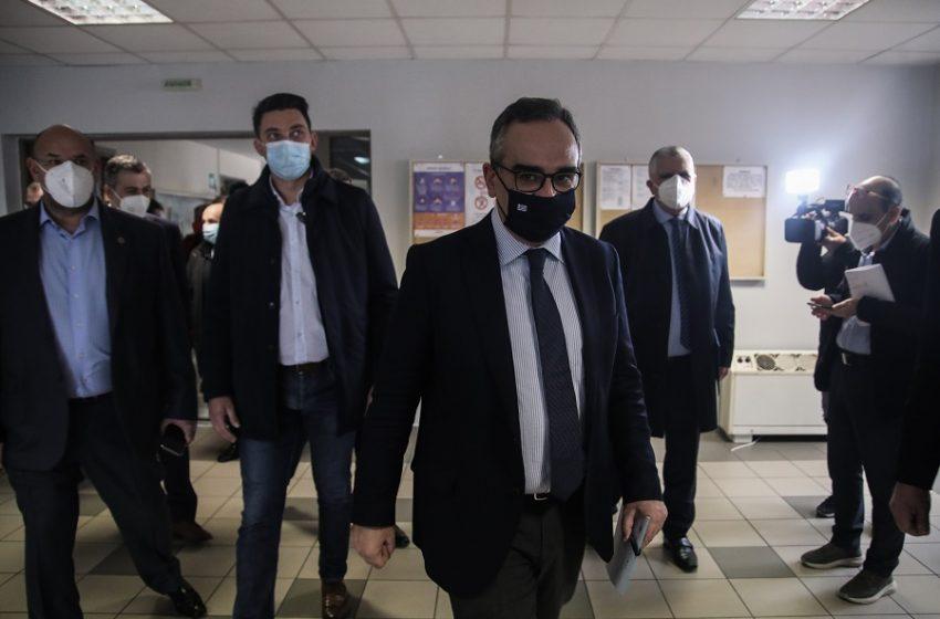 Κοντοζαμάνης: Κανένας ασθενής εκτός ΜΕΘ στη Θεσσαλονίκη