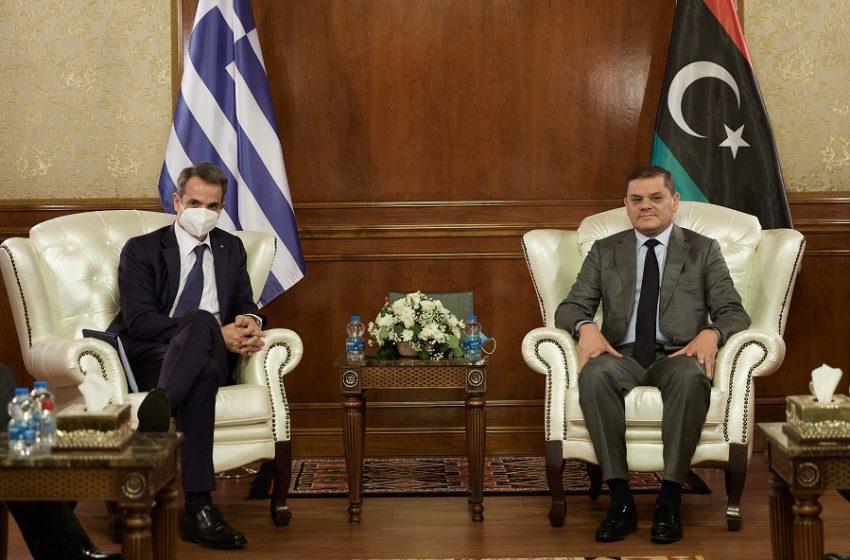Μητσοτάκης: Θεμέλιο στις σχέσεις Ελλάδας- Λιβύης, η πίστη στις αρχές της διεθνούς νομιμότητας