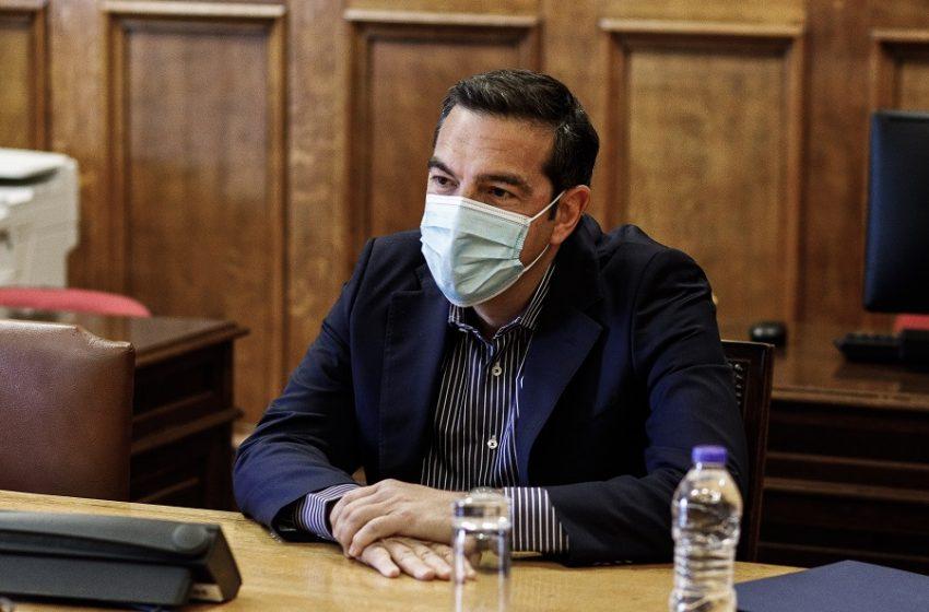 """Τσίπρας: """"Γραμμάτιο του κ. Μητσοτάκη στον ΣΕΒ το εργασιακό νομοσχέδιο"""""""