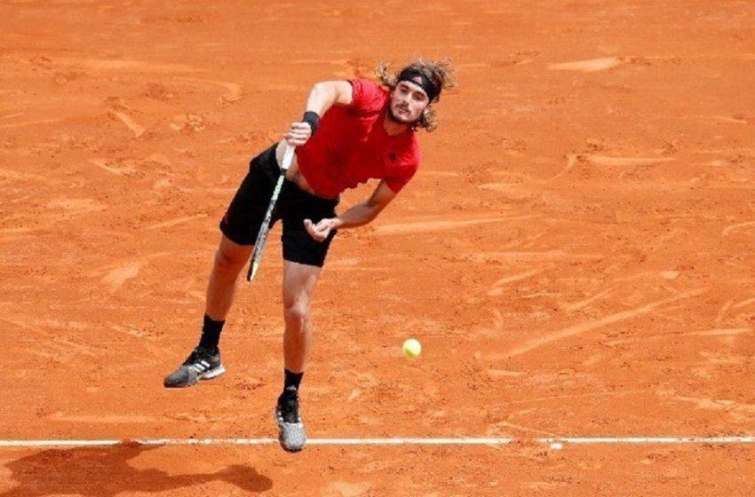 Στέφανος Τσιτσιπάς: Προκρίθηκε στον 3ο γύρο του Masters Μόντε Κάρλο