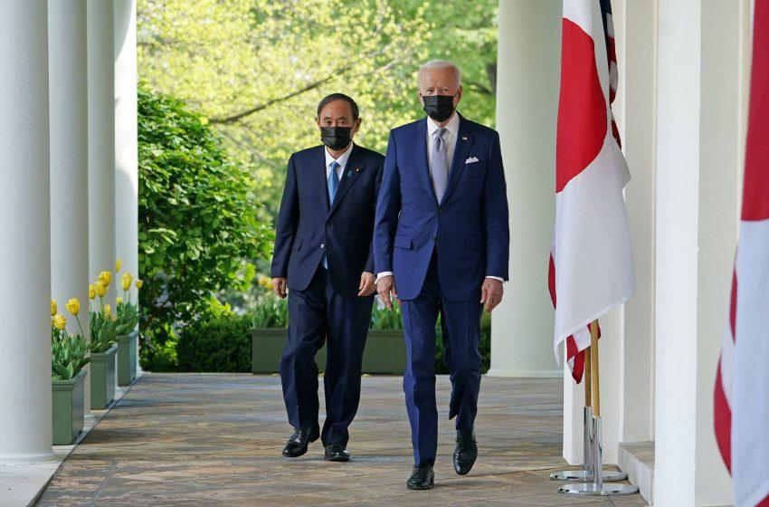 Κοινό μέτωπο ΗΠΑ – Ιαπωνίας κατά της Κίνας συμφώνησαν Μπάιντεν – Σούγκα