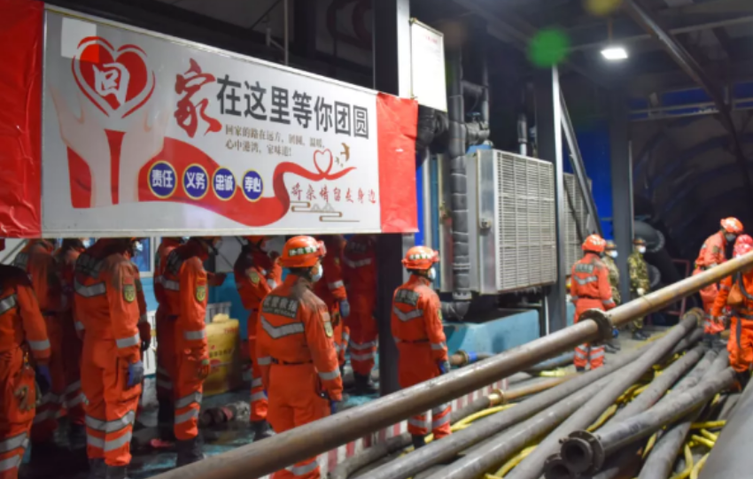 Κίνα: 21 ανθρακωρύχοι εγκλωβισμένοι μετά απο ατύχημα – 8 διασώθηκαν