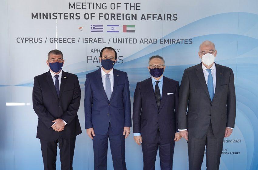"""Δένδιας από Κύπρο: """"Αναζητούμε θετική ατζέντα στις σχέσεις με την Τουρκία"""""""