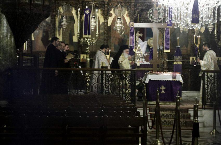Εκκλησίες-Μ. Εβδομάδα: Περιορισμένος αριθμός πιστών με διπλή μάσκα, υποχρεωτικό self test για ιερείς