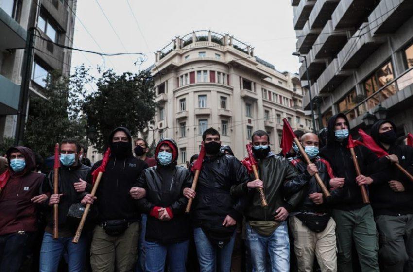 Εκπαιδευτικό συλλαλητήριο στο κέντρο της Αθήνας (vid)