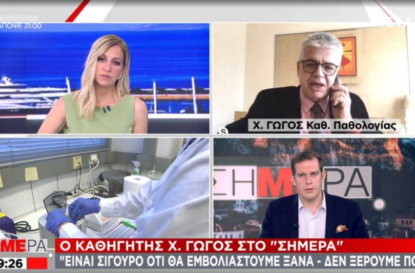 """Διαφωνία Γώγου- Σύψα: """" Οι προβλέψεις στην πανδημία δεν έπεσαν μέσα"""""""