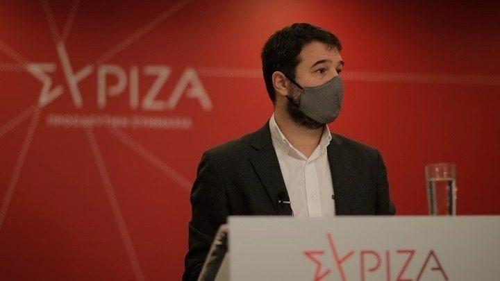 Ηλιόπουλος: Η κυβέρνηση του κ. Μητσοτάκη συνεχίζει το απόλυτο μπάχαλο στην πανδημία
