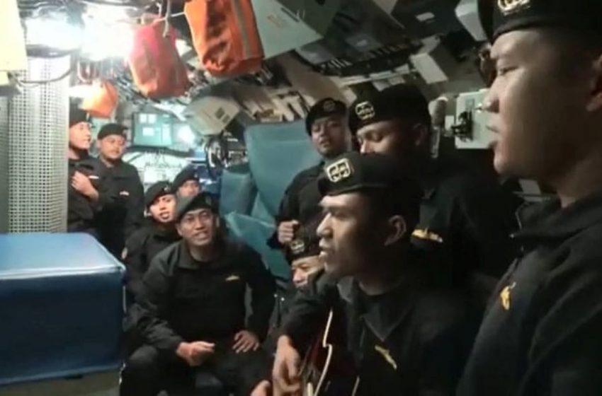 Ινδονησία: Το τελευταίο βίντεο από το πλήρωμα του χαμένου υποβρυχίου πριν βυθιστεί (vid)