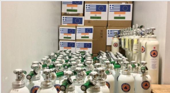 Στέλνουμε βοήθεια στην Ινδία: Οξυγόνο και υγειονομικό υλικό
