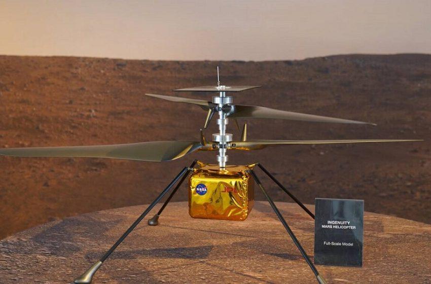 """Το ελικόπτερο της NASA """"πέταξε"""" στον πλανήτη Άρη (vid)"""
