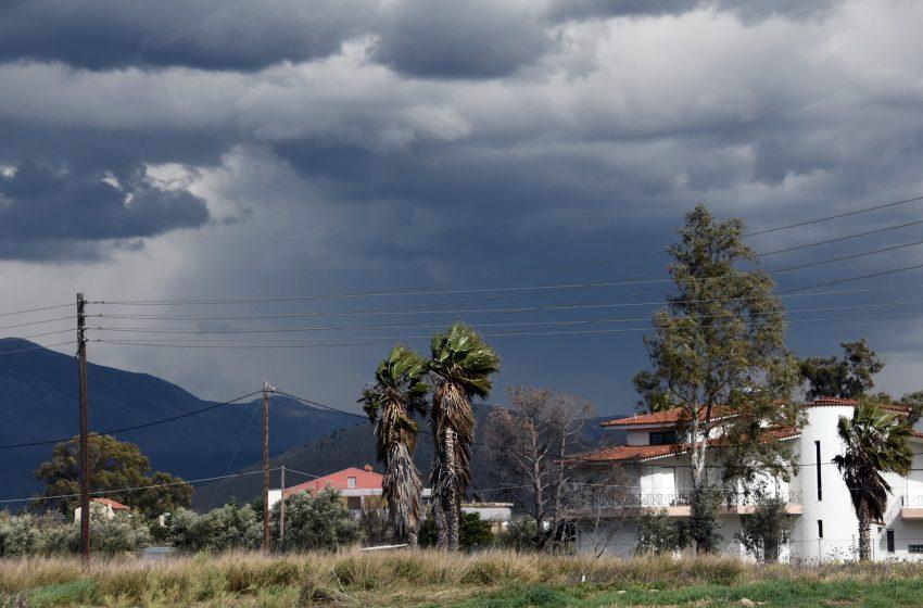 Αφρικανική σκόνη και βροχές – Πού θα εκδηλωθούν καταιγίδες