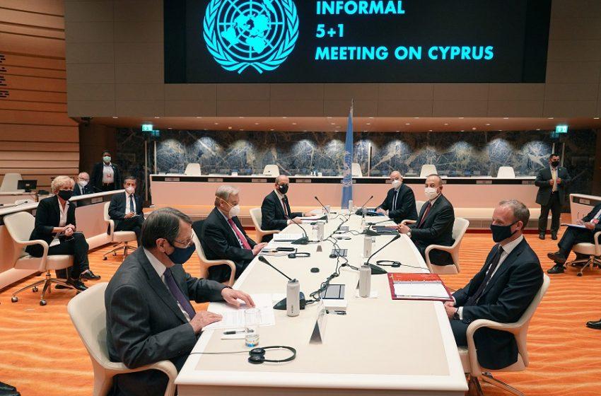 """Ο Τατάρ """"τινάζει στον αέρα"""" την πενταμερή για το Κυπριακό – Ζητά με επίσημο έγγραφο αναγνώριση δύο κρατών"""