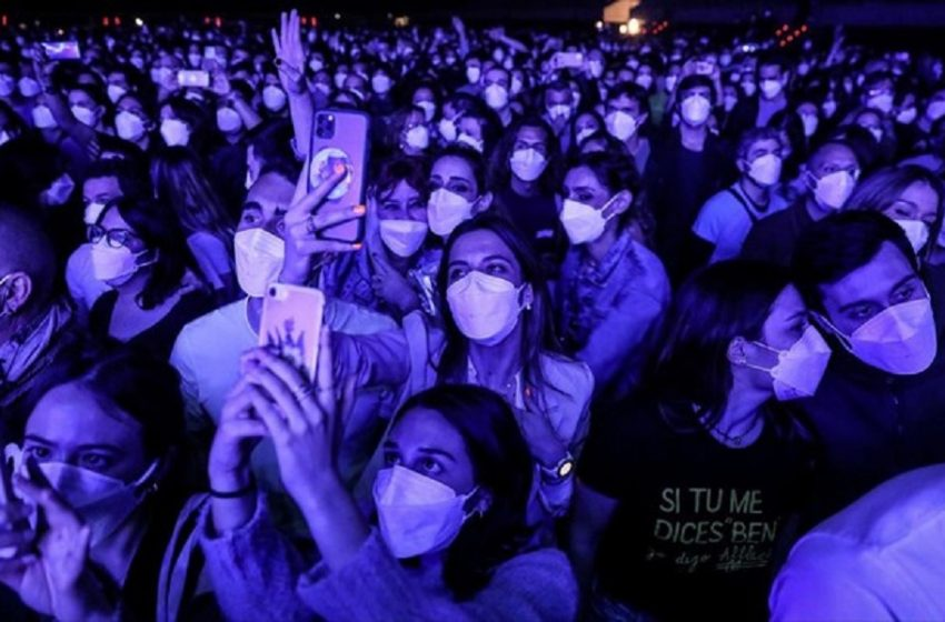 Ισπανία: Καμία ένδειξη μετάδοσης κοροναϊού σε ροκ συναυλία-τεστ με 5.000 θεατές