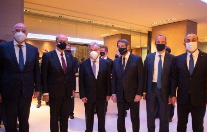 Aδιέξοδο στη Γενεύη …με υπογραφή Γκουτέρες- Νέα διάσκεψη σε 2-3 μήνες με  την τουρκική πρόταση διχοτόμησης στο τραπέζι | Libre
