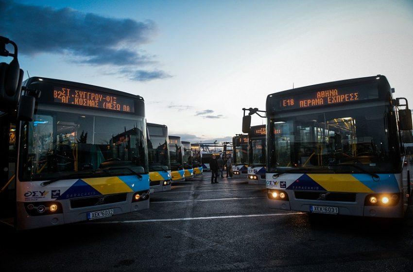 """Καθηλωμένα στα αμαξοστάσια ορισμένα από τα νέα λεωφορεία – Παππάς: """"Όλα έχουν μηχανικά προβλήματα""""-Διαψεύδει η διοίκηση"""