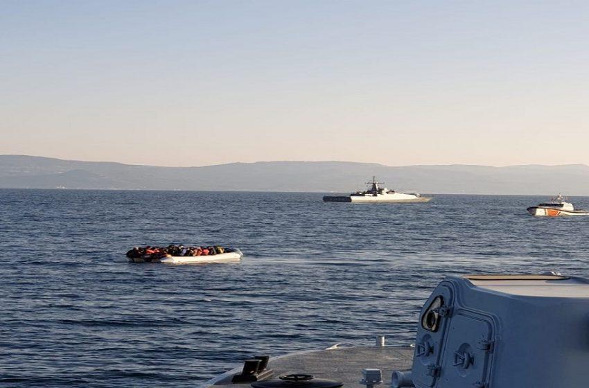 Βίντεο ντοκουμέντο: Τουρκική ακταιωρός μπαίνει στα ελληνικά χωρικά ύδατα και παρενοχλεί σκάφος του λιμενικού (vid, εικόνες)