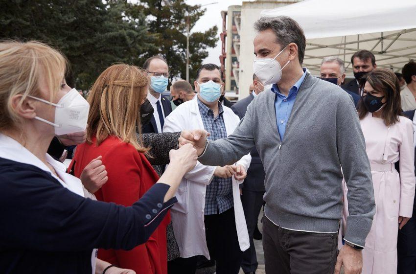 """Θεσσαλονίκη: Στο """"Παπανικολάου"""" ο πρωθυπουργός – Αποδοκιμασίες από εργαζόμενους"""