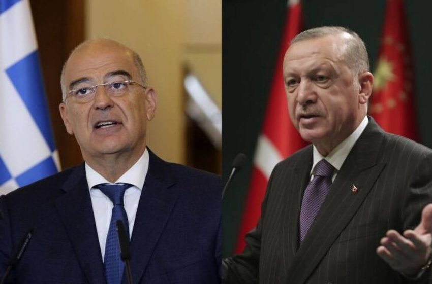 Άρχισε η συνάντηση Δένδια, Ερντογάν – Παρών και ο Τσαβούσογλου