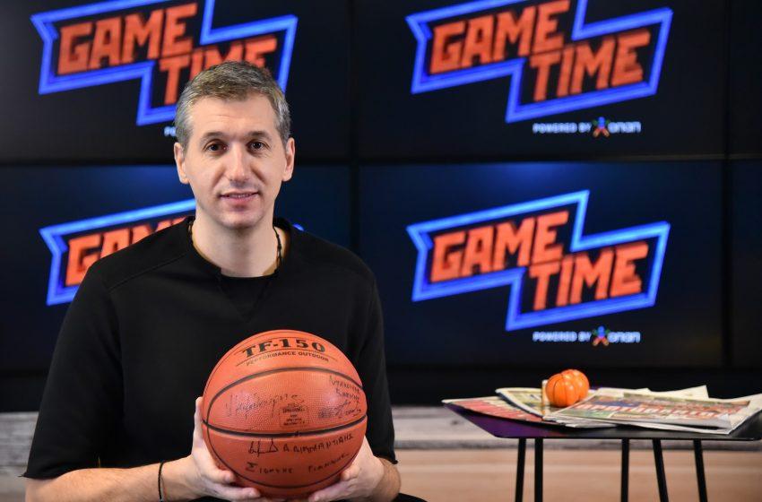 Ο Δημήτρης Διαμαντίδης στο ΟΠΑΠ GAME TIME ΜΠΑΣΚΕΤ