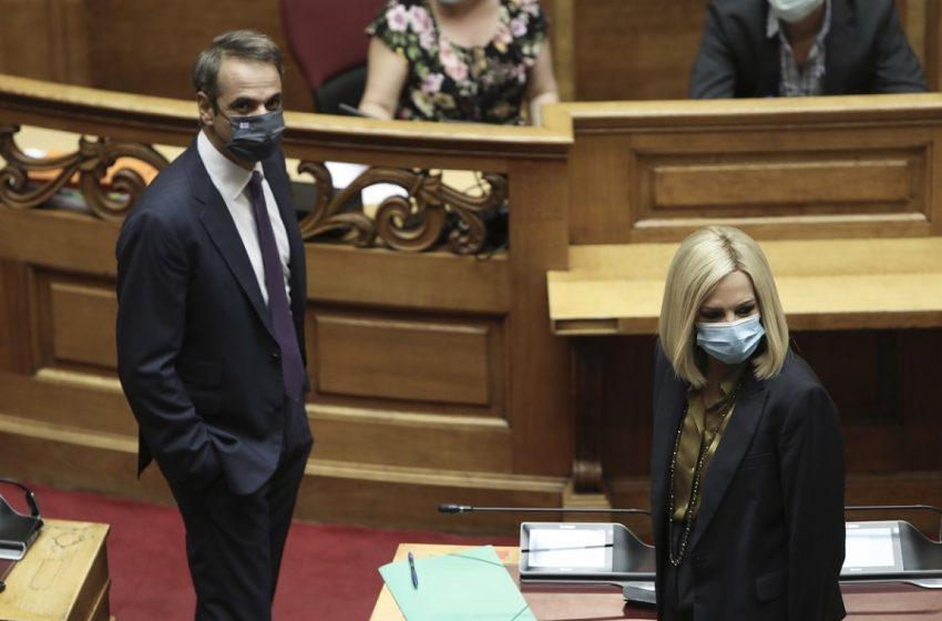 """""""Ναι"""" Μητσοτάκη σε Γεννηματά για Νέο Κλιματικό Νόμο"""