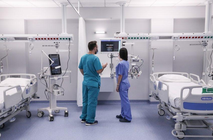 Τρία κρούσματα κοροναϊού σε τραυματιοφορείς του νοσοκομείου Χαλκίδας