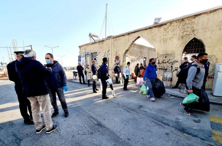 Επιχείρηση εκκένωσης άτυπης δομής που διαμένουν μετανάστες στη Ρόδο