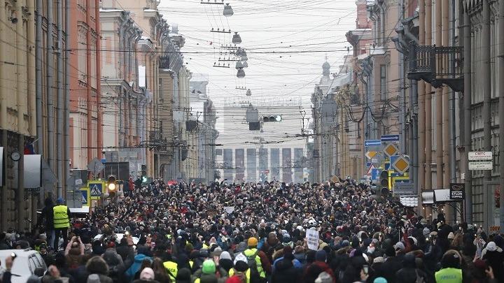 Ενταση στη Ρωσία με τις διαδηλώσεις υπέρ του Ναβάλνι