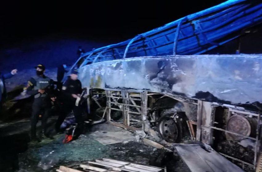 Τραγωδία στην Αίγυπτο: Είκοσι νεκροί σε δυστύχημα με λεωφορείο