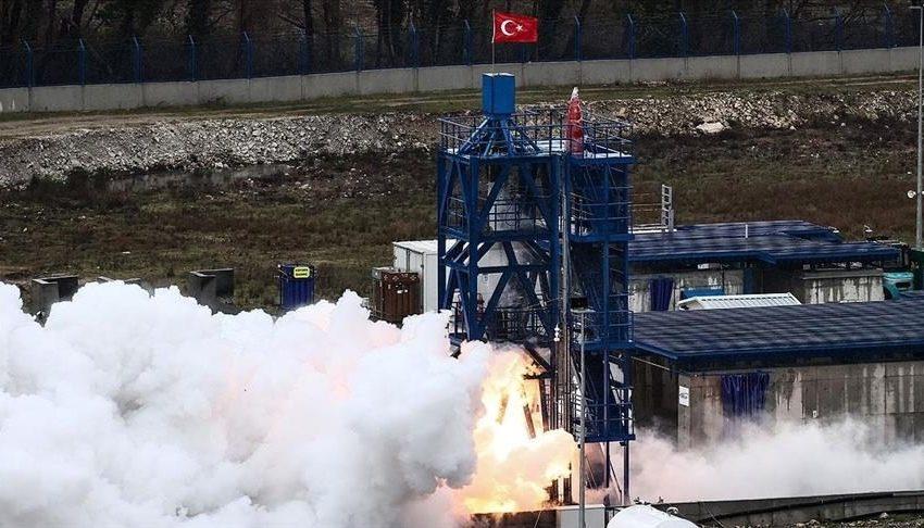 Επιτυχείς οι διαστημικές δοκιμές της Τουρκίας (vid)