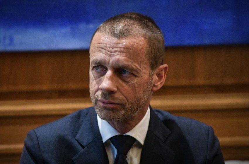 """""""Κεραυνοί"""" από τον πρόεδρο της UEFA: Εκτός Euro και Mundial όποιος παίκτης συμμετέχει στη European Super League"""