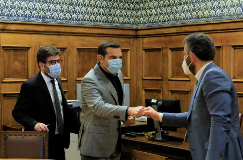 Συνάντηση Τσίπρα με το προεδρείο της Ένωσης Δικαστών και Εισαγγελέων