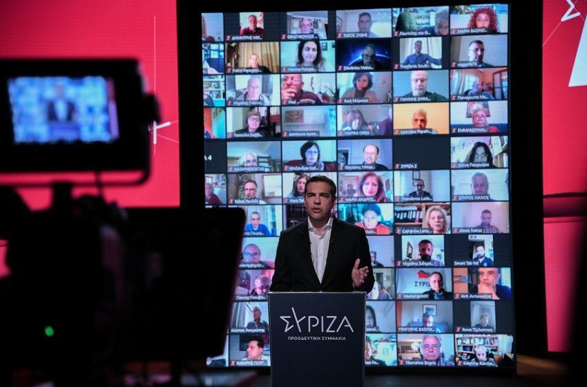 """ΣΥΡΙΖΑ για την πρόταση Μπάϊντεν: """"Ο κ. Μητσοτάκης είναι πρωθυπουργός, όχι σχολιαστής.Τι έκανε για την άρση της πατέντας; Απολύτως τίποτε"""""""