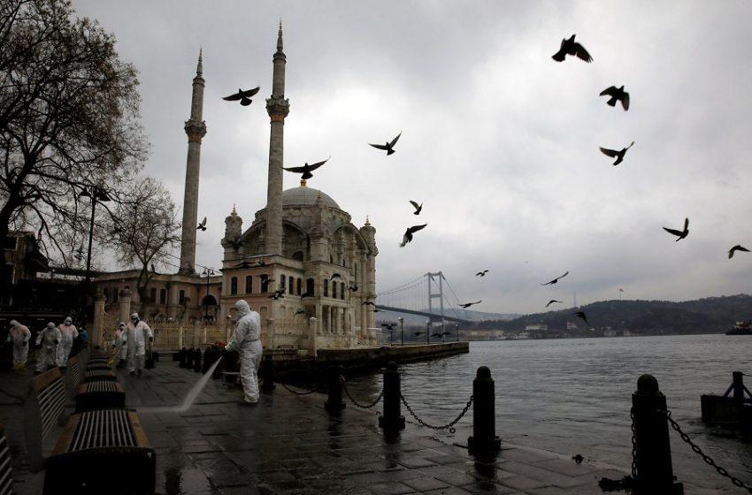 Τουρκία: Στην τέταρτη θέση παγκοσμίως στα κρούσματα – Νέα μέτρα ανακοίνωσε ο Ερντoγάν