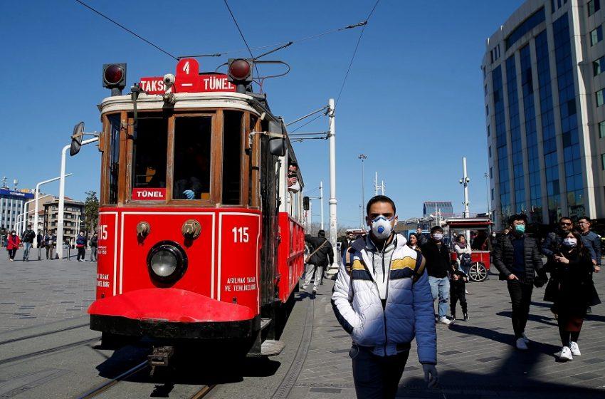 """Τουρκία: """"Έκρηξη"""" με 50.000 κρούσματα – 5η παγκοσμίως σε ημερήσιες μολύνσεις"""