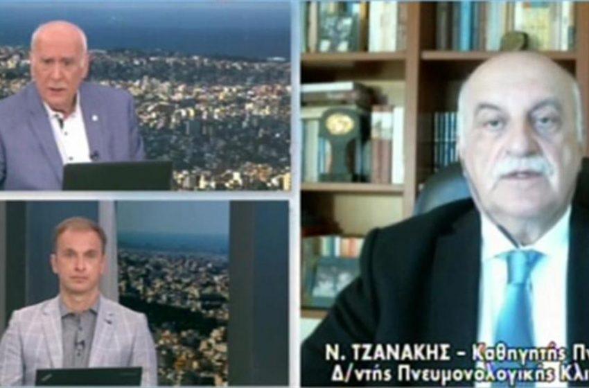 H πρόβλεψη Τζανάκη για την πορεία της πανδημίας τον Μάιο