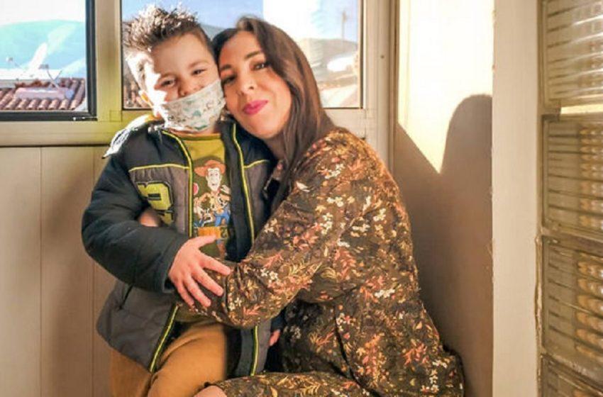 Φοίβος Βουτσάς: Πασχαλινή επίσκεψη στη νονά του Μάρθα Καραγιάννη
