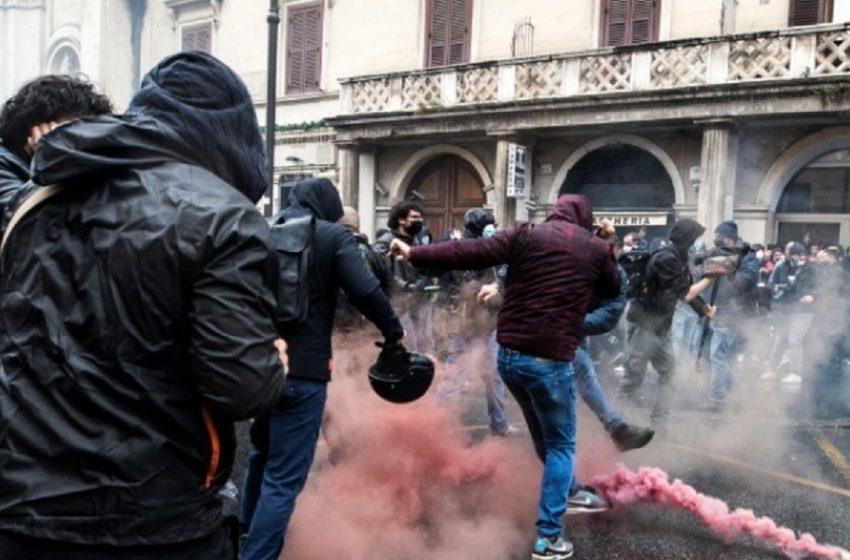 Ρώμη: Επεισόδια σε διαδήλωση για το άνοιγμα των εμπορικών επιχειρήσεων