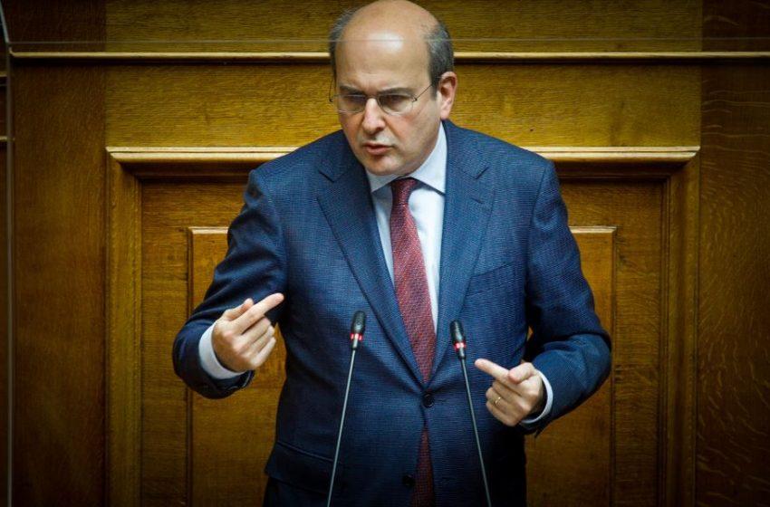 Χατζηδάκης: Είμαστε αποφασισμένοι να προχωρήσουμε με νέες ιδέες και την κοινή λογική