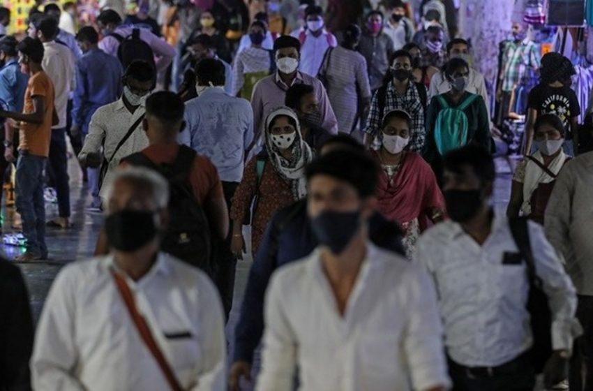 Ινδία:Πάνω από 26 εκατ. κρούσματα